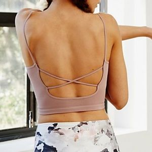 Free People Strappy Back Tighten Up Tank NWOT